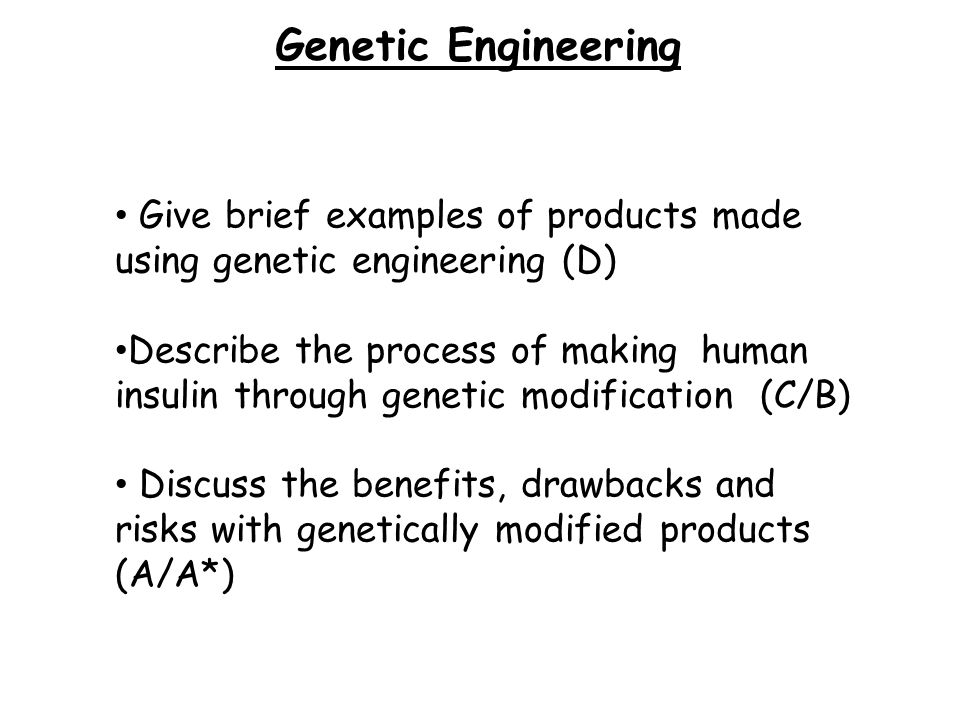 the promise of genetic engineering in regards to disease removal In the medicine field, gene therapy (also called human gene transfer) is the therapeutic delivery of nucleic acid into a patient's cells as a drug to treat disease the first attempt at modifying human dna was performed in 1980 by martin cline, but the first successful nuclear gene transfer in humans, approved by the national institutes of health, was performed in may 1989.