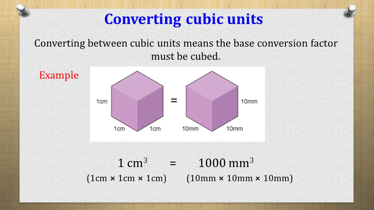 Worksheet Conversion Between Units Of Measurement measurement volume capacity converting cubic units of prisms area cross section length l the of
