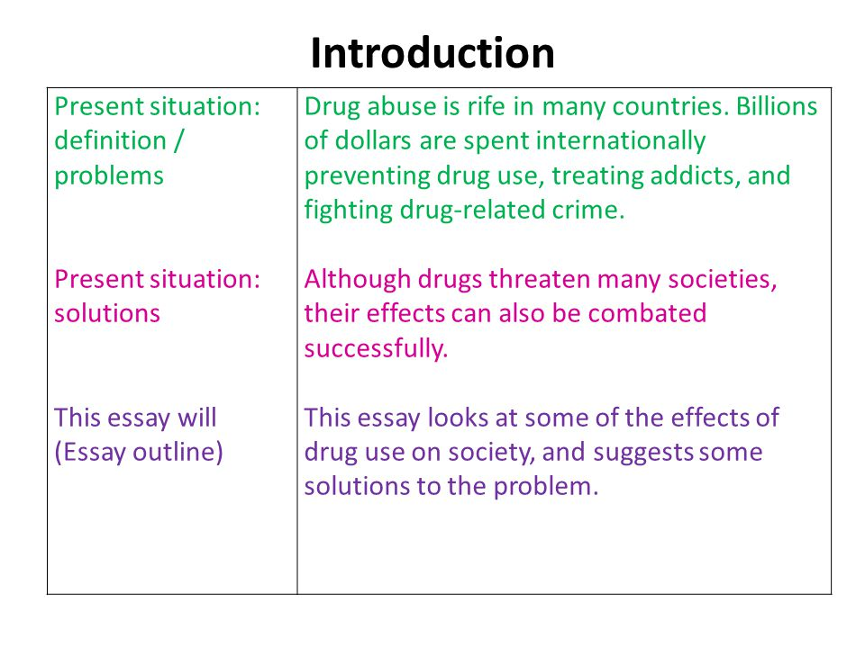 "drug problem in america essay Drugs have been part of our culture since the middle of the last century  how to find out,"" partnership for a drug-free america, 12 october 2004."