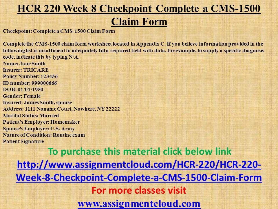 hcr 220 syllabus Posts about hrm 531 syllabus written by hcr 210 (patient records keeping it real) complete class week 1-9 hcr 220 (claims preparation i: clean bills of.