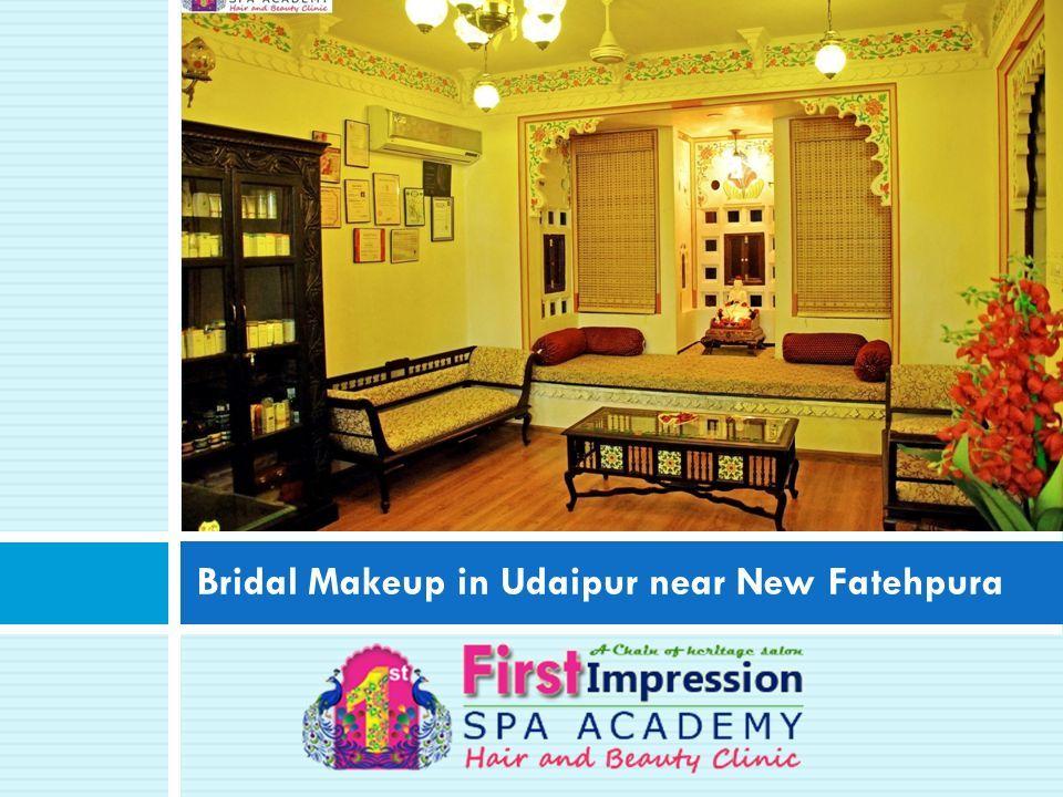 Bridal Makeup in Udaipur near New Fatehpura