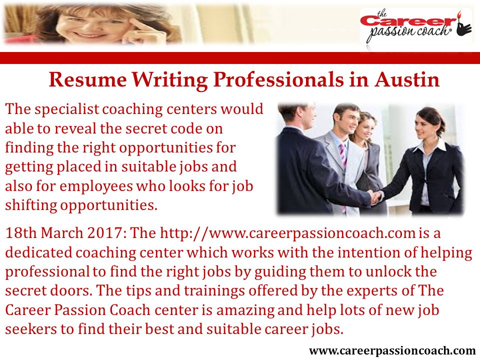 Best and Affordable Resume Making Services in Austin Texas ppt