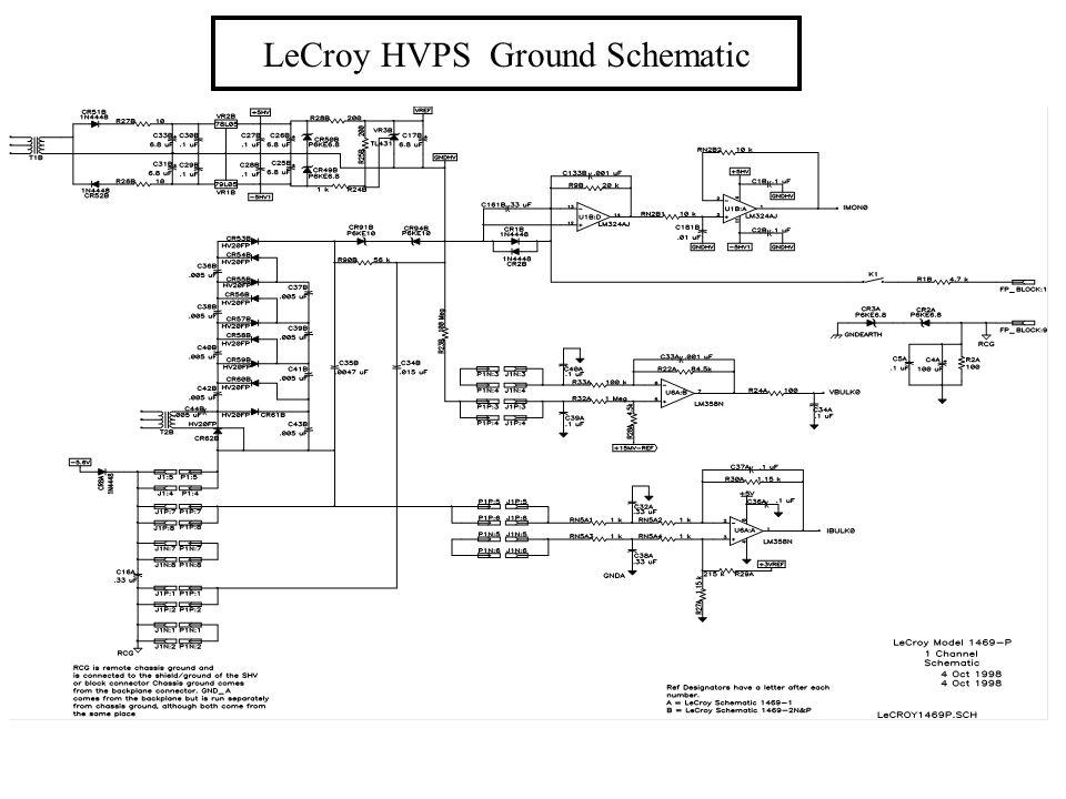LeCroy HVPS Ground Schematic