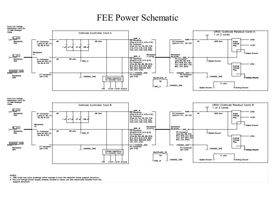 FEE Power Schematic