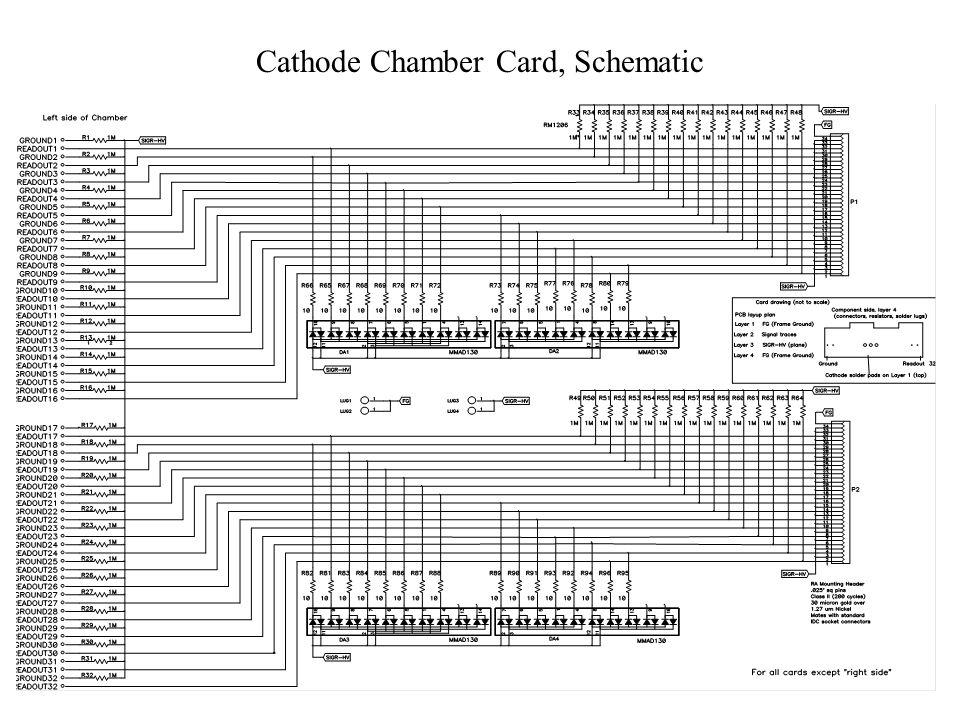 Cathode Chamber Card, Schematic