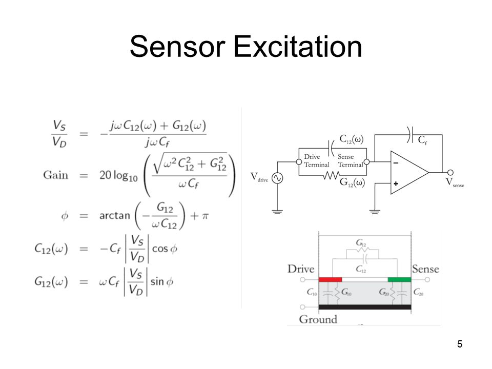 5 Sensor Excitation