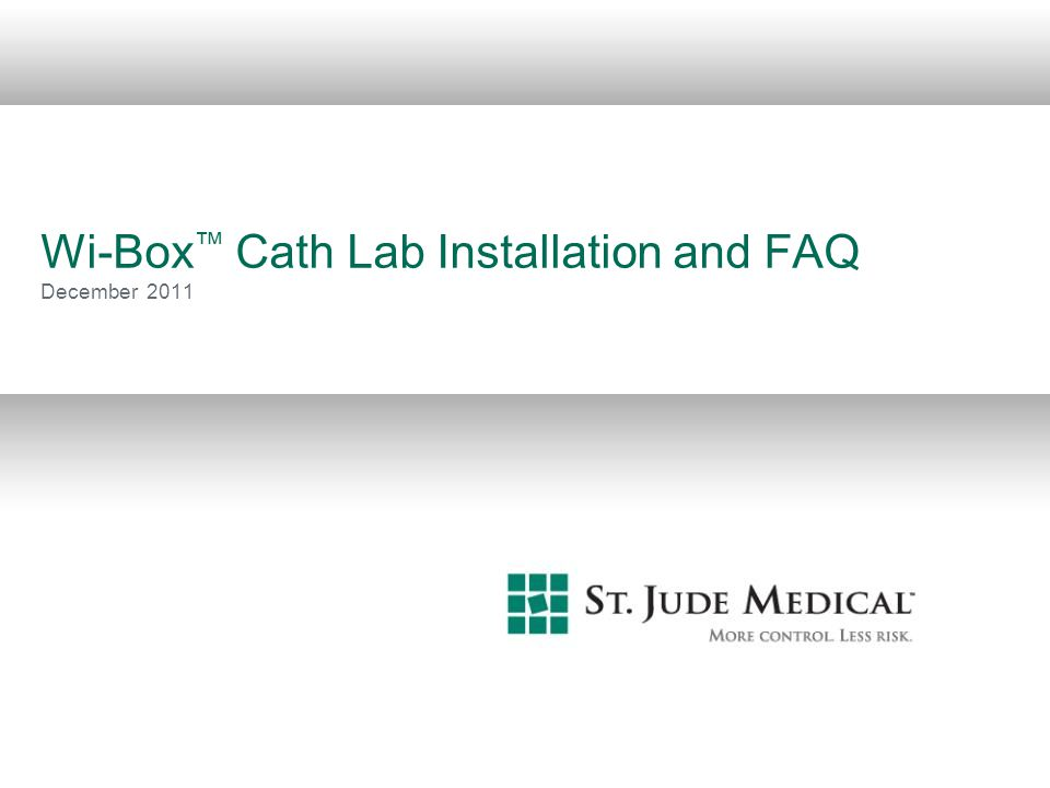 22 Wi-Box FAQ Q: Since the Wi-Box is permanently placed between the AO transducer and the hemodynamic recording system, is there a risk for erroneous readings, inaccuracy or time delay.