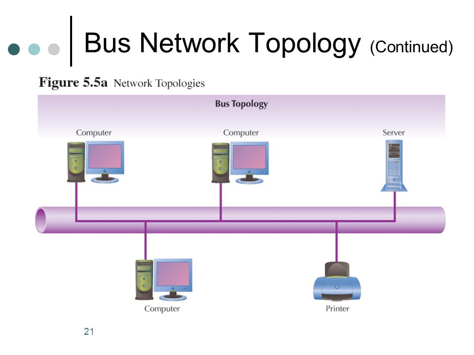 21 Bus Network Topology (Continued)