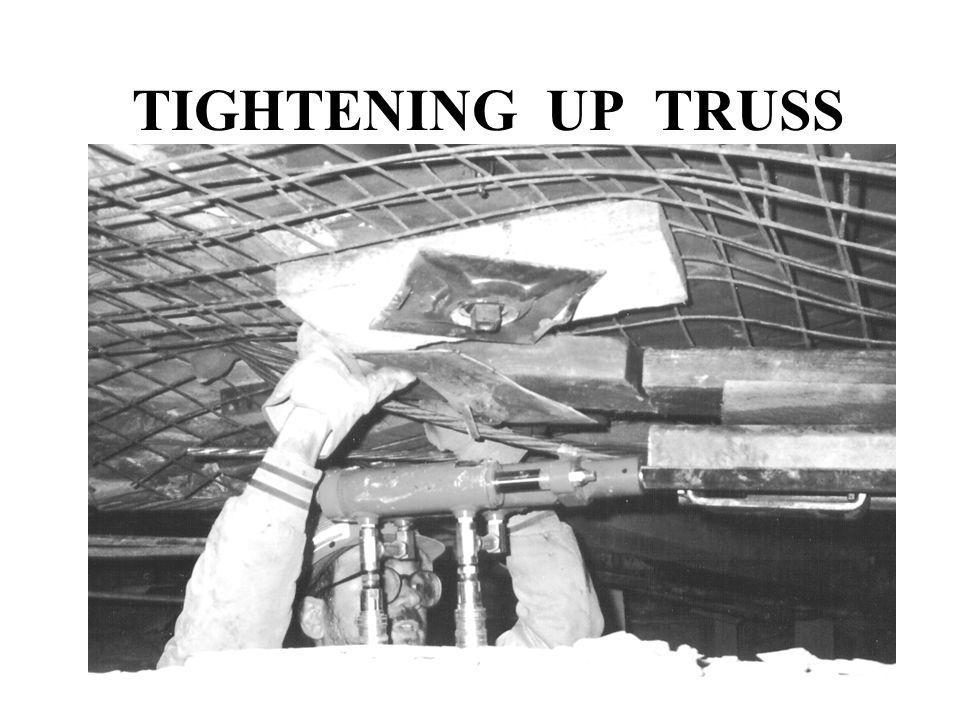TIGHTENING UP TRUSS