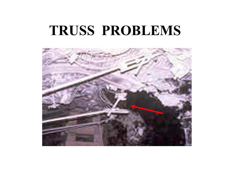 TRUSS MISAPPLICATION