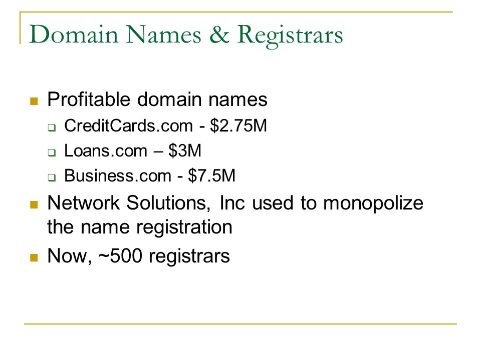 How To Register A Domain Name.