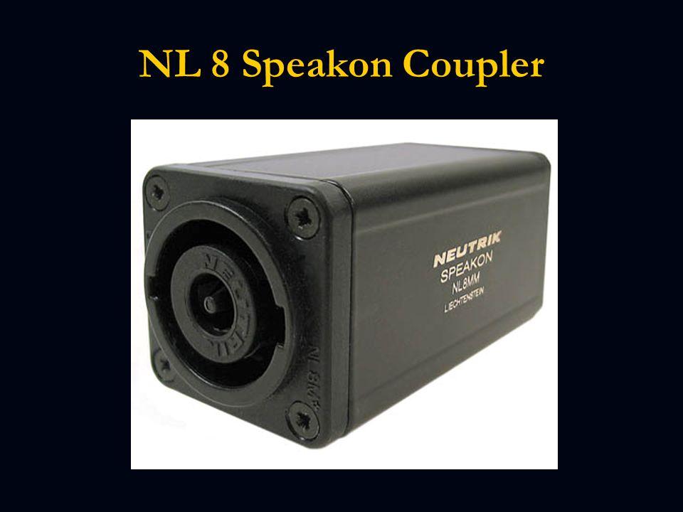 NL 8 Speakon Coupler