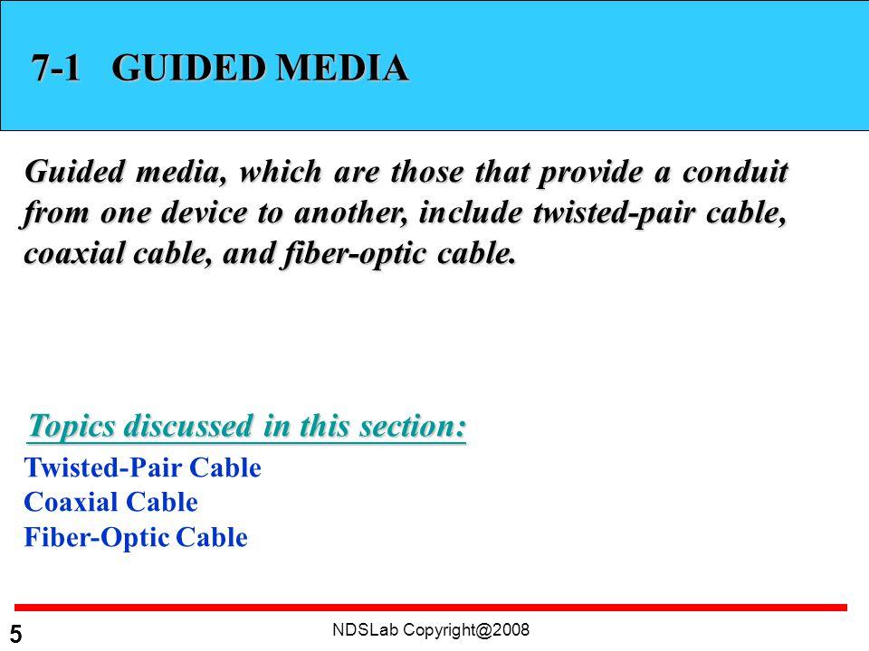 NDSLab Copyright@2008 26 Figure 7.18 Propagation methods