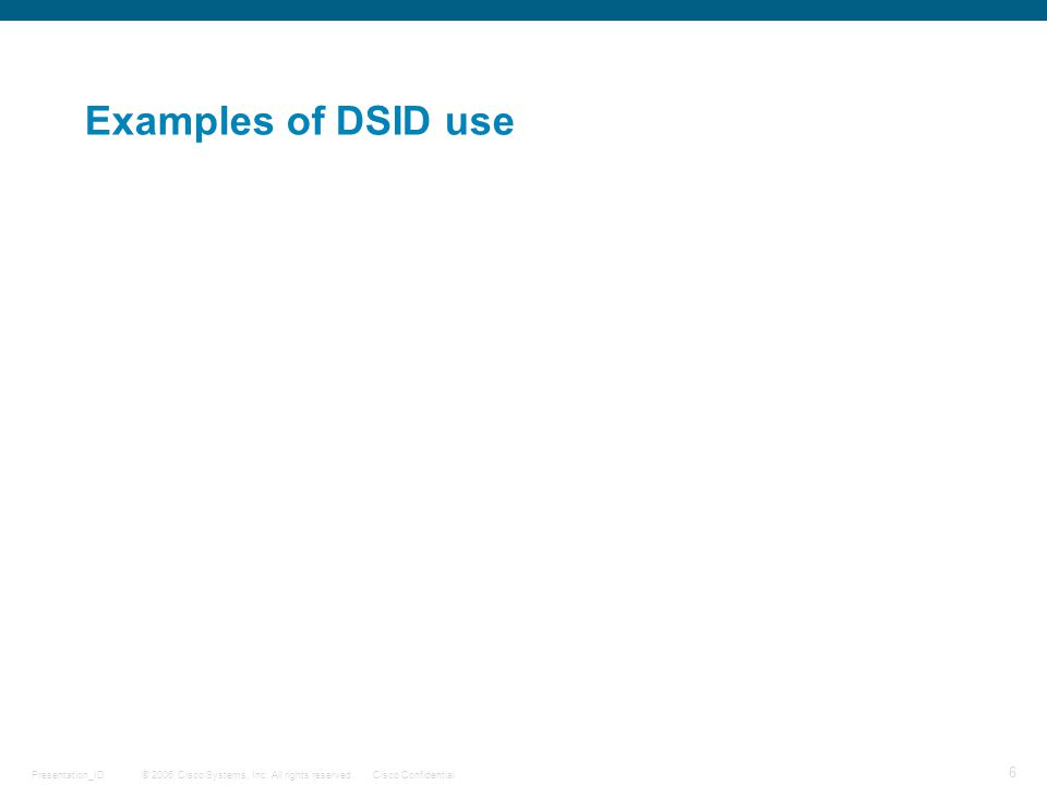 © 2006 Cisco Systems, Inc. All rights reserved.Cisco ConfidentialPresentation_ID 17 Multicast QoS