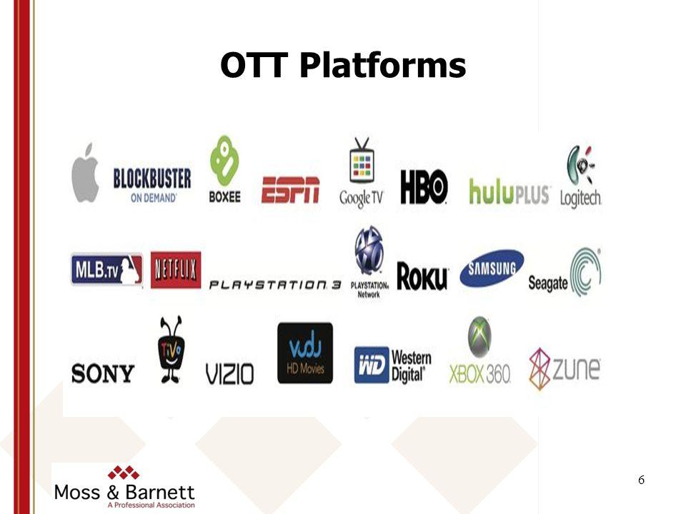 OTT Platforms 6