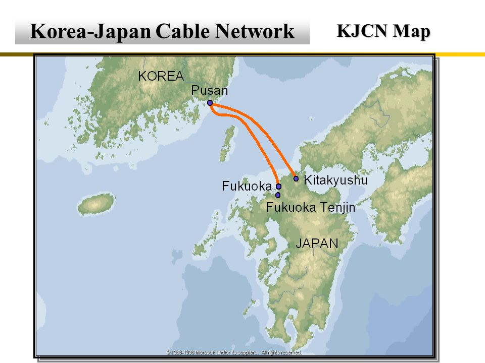 International Submarine Cable Submarine Cables in North East Asia