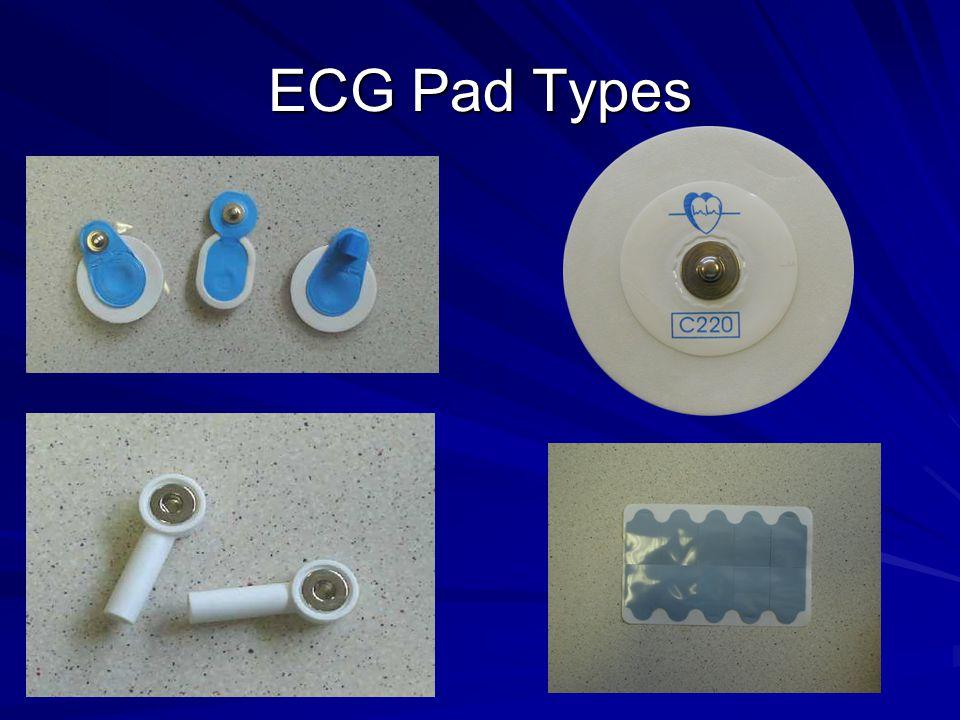 ECG Pad Types