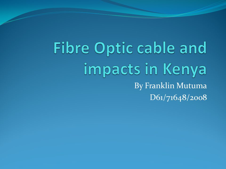 Definition Fiber Optic – refers to technology that uses cables made up of thin glass fibers that can conduct the light generated by lasers for high-speed telecommunications.