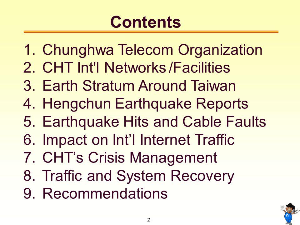 3 1. Chunghwa Telecom Organization