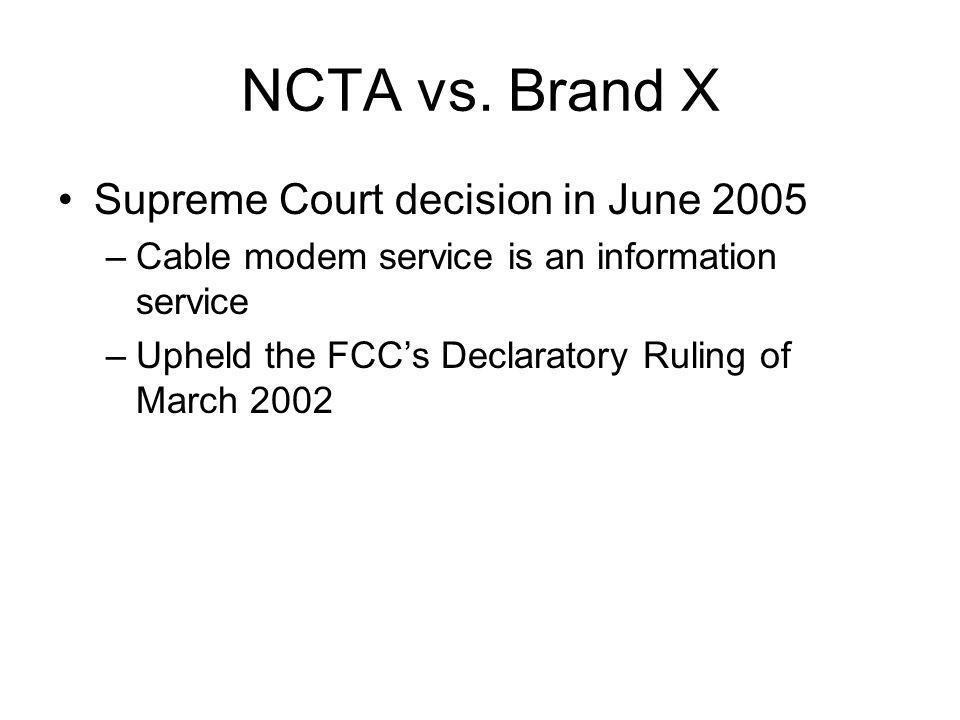 NCTA vs.