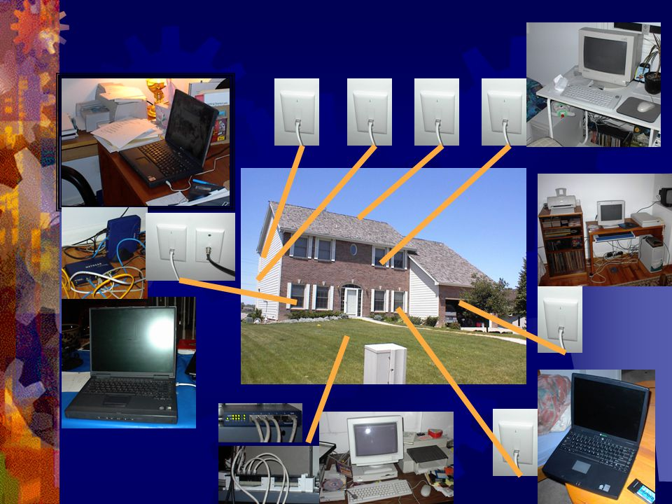 Cable modem – 2001 Guest Room Basement Office BasementBedroom router Qwest Online Cable modem Dining Room Guest Room