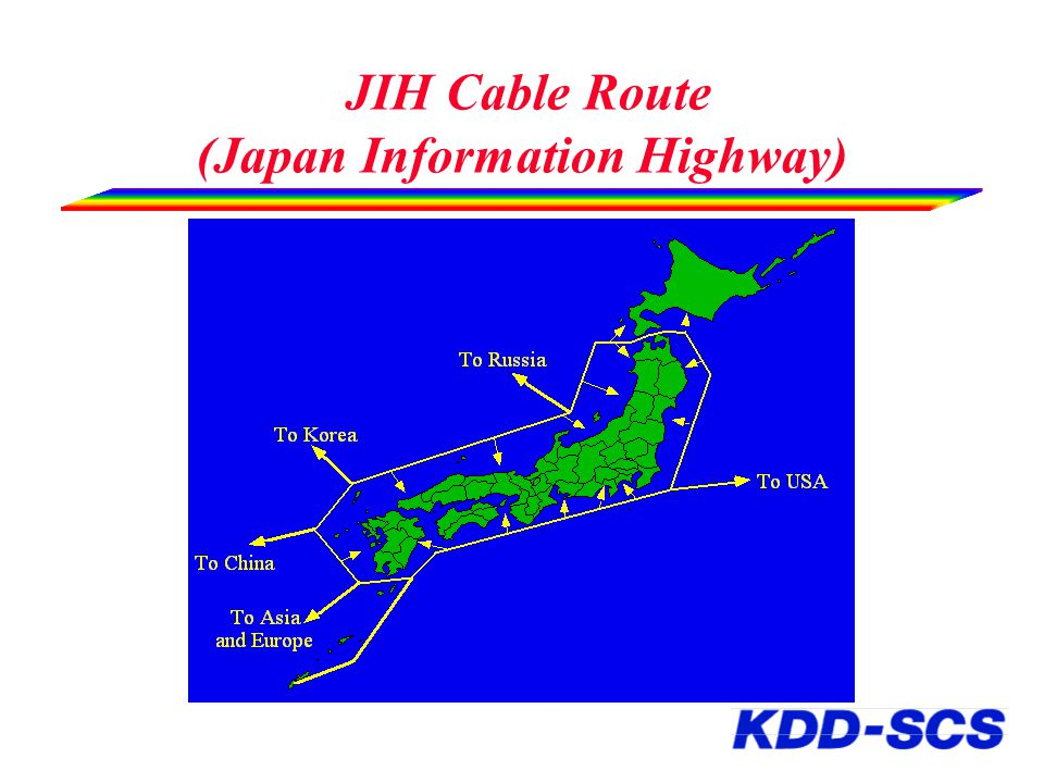 JIH Cable Route (Japan Information Highway)