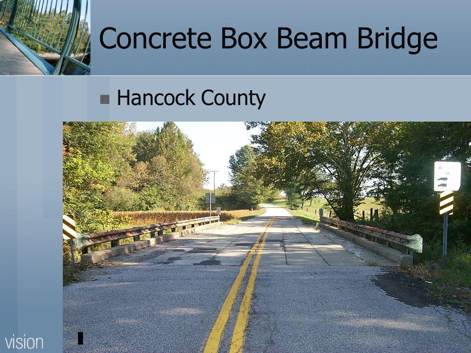 Concrete Box Beam Bridge Hancock County