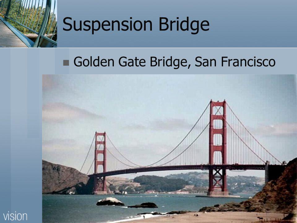 Suspension Bridge Golden Gate Bridge, San Francisco