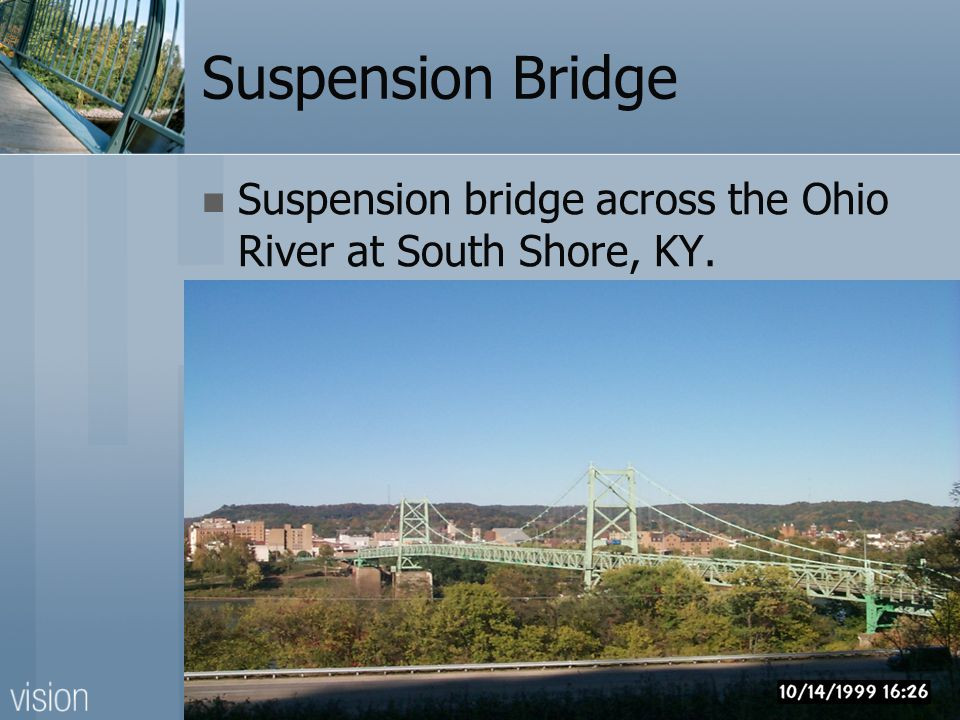 Suspension Bridge Maysville, KY