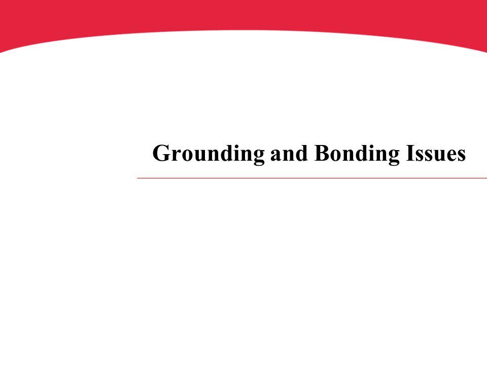 Grounding and Bonding Issues