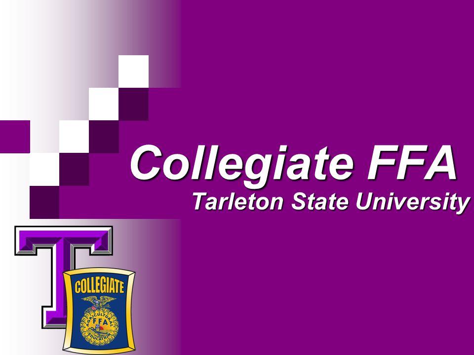 Collegiate FFA Tarleton State University