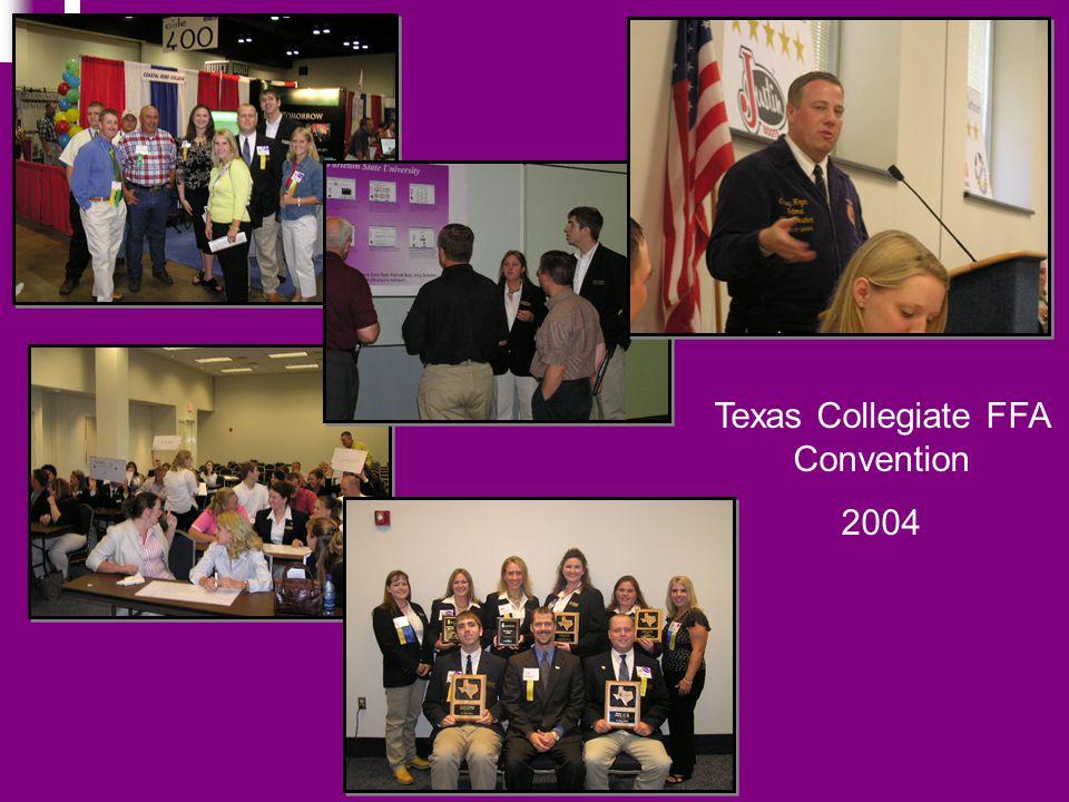Texas Collegiate FFA Convention 2004