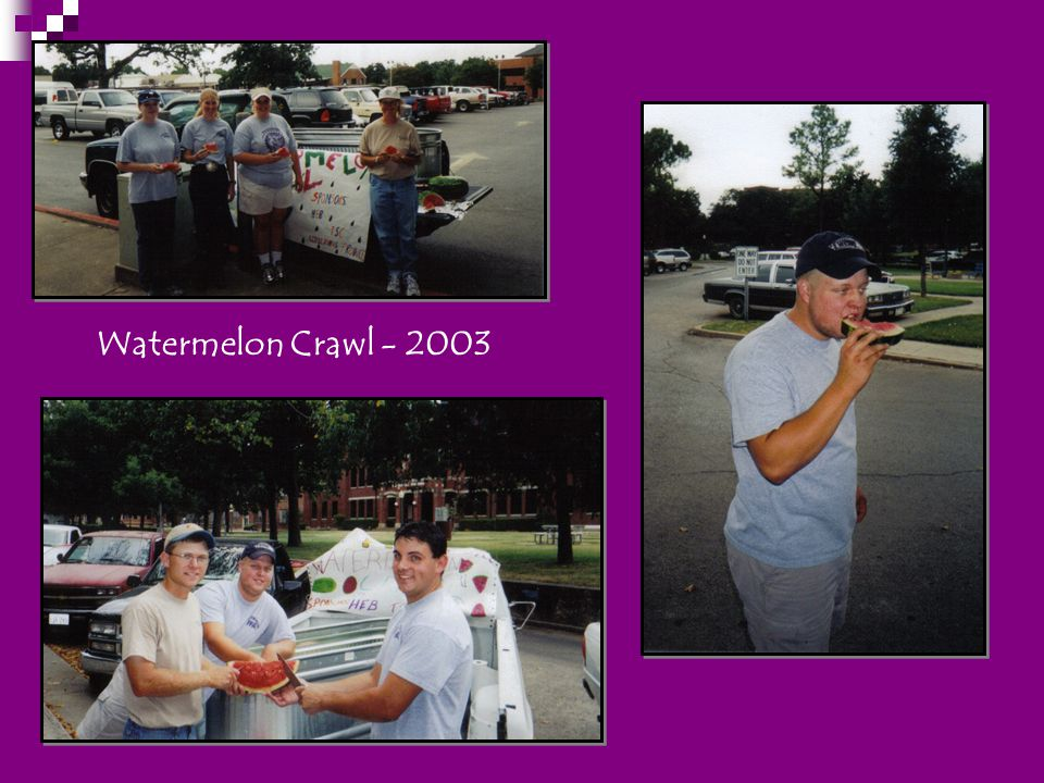 Watermelon Crawl - 2003