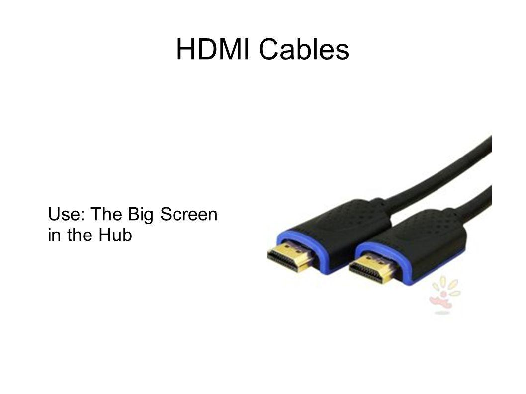 HDMI Cables Use: The Big Screen in the Hub