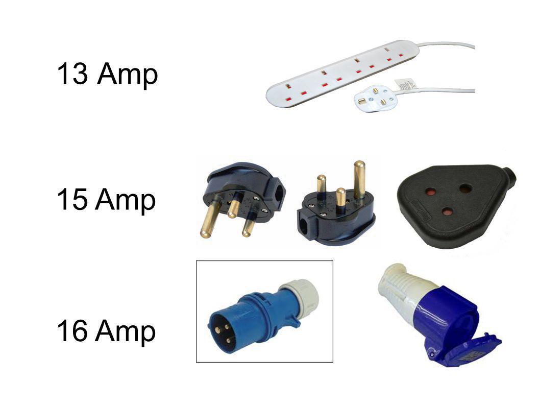 13 Amp 16 Amp 15 Amp