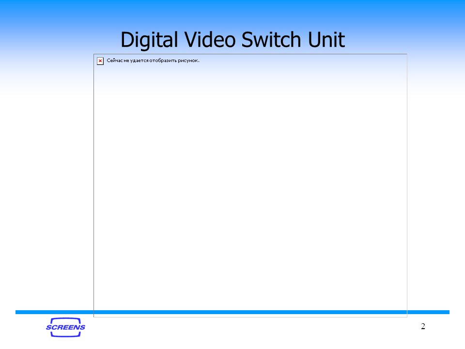 2 Digital Video Switch Unit