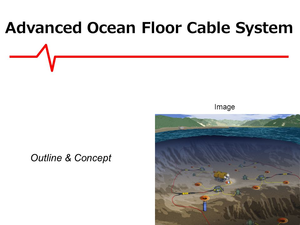 Ocean floor cable network system as MEXT project Sensors over20 Seismometers 20 Pressure gauges