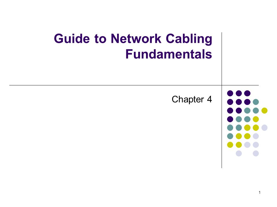 2 Chapter 4 - Installing Cables and Supporting Structures Identify the different pathways and why they are necessary Understand the layouts of equipment rooms and telecommunications rooms Discuss proper cable installation procedures Identify good cable management practices and understand their importance Document your network