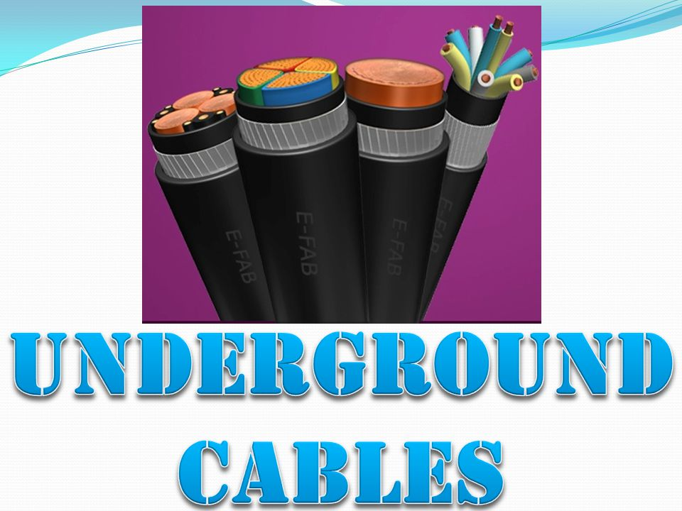 LOW-TENSION CABLES (L.T.) THESE CABLES ARE EMPLOYED FOR USE UP TO 1000V.