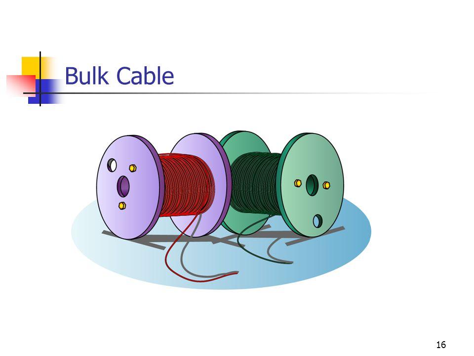 16 Bulk Cable