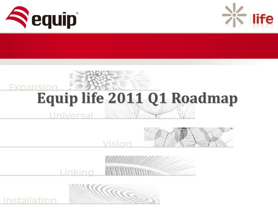 Equip life 2011 Q1 Roadmap