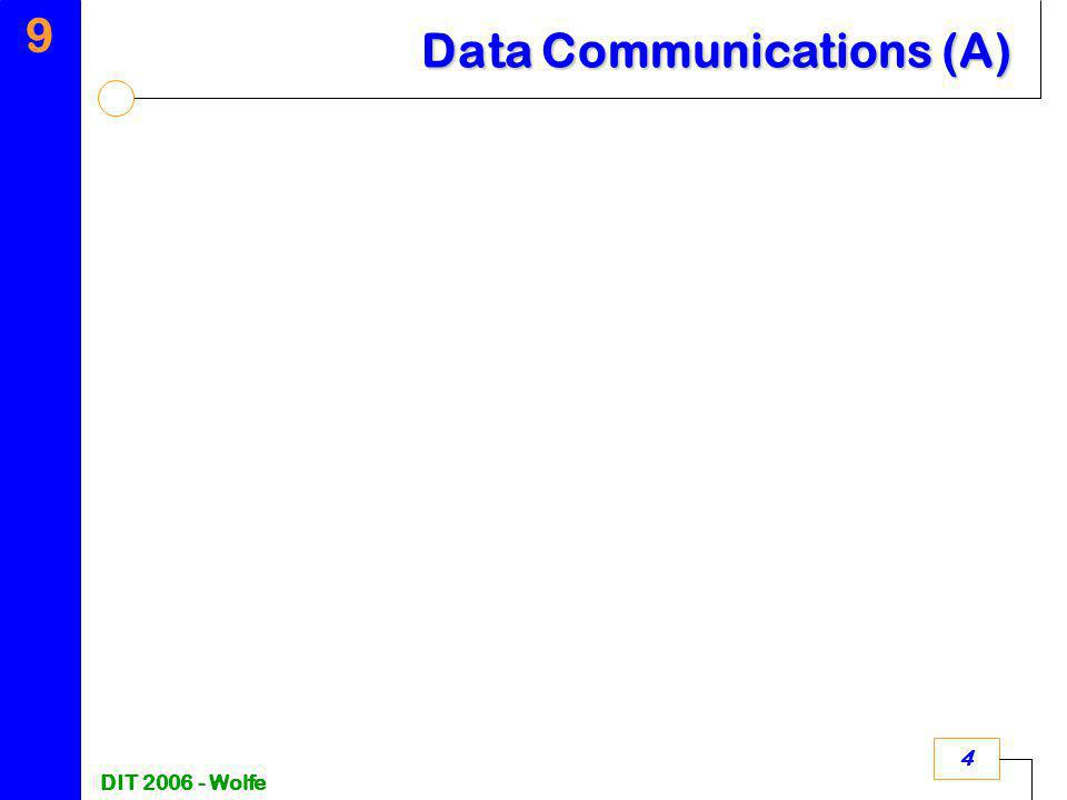 9 DIT 2006 - Wolfe 4 Data Communications (A)