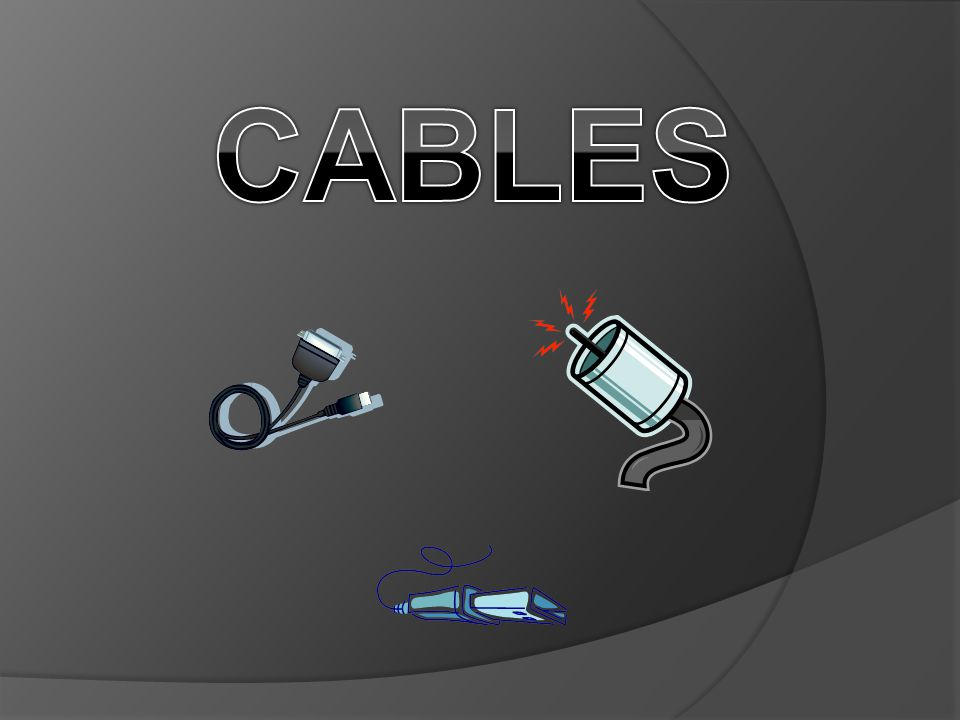 Power Cables - An assembly of two or more electrical conductors, usually held together with an overall sheath.