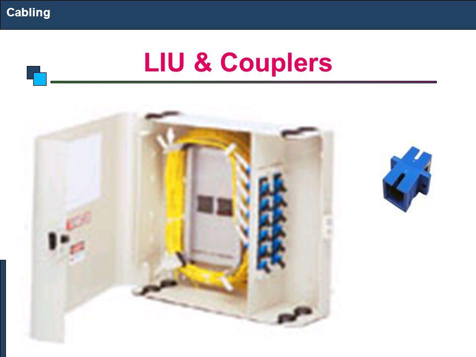 LIU & Couplers Cabling