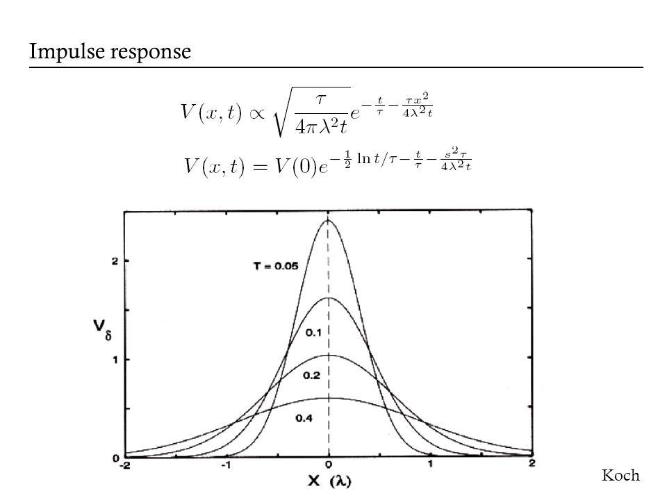 Koch Impulse response