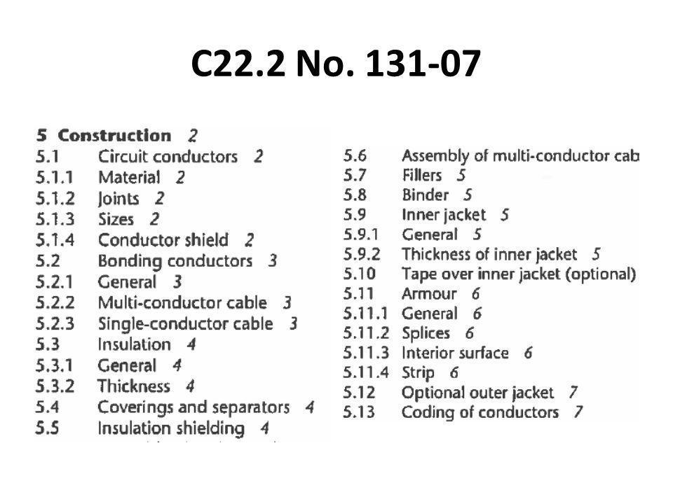 C22.2 No. 131-07