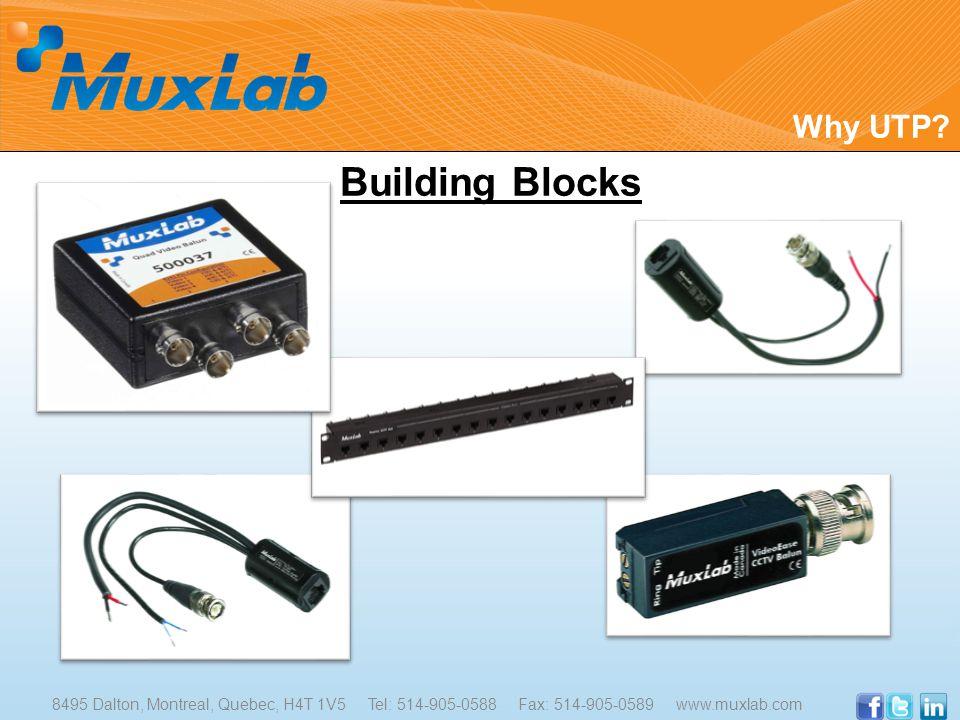 Building Blocks Why UTP.