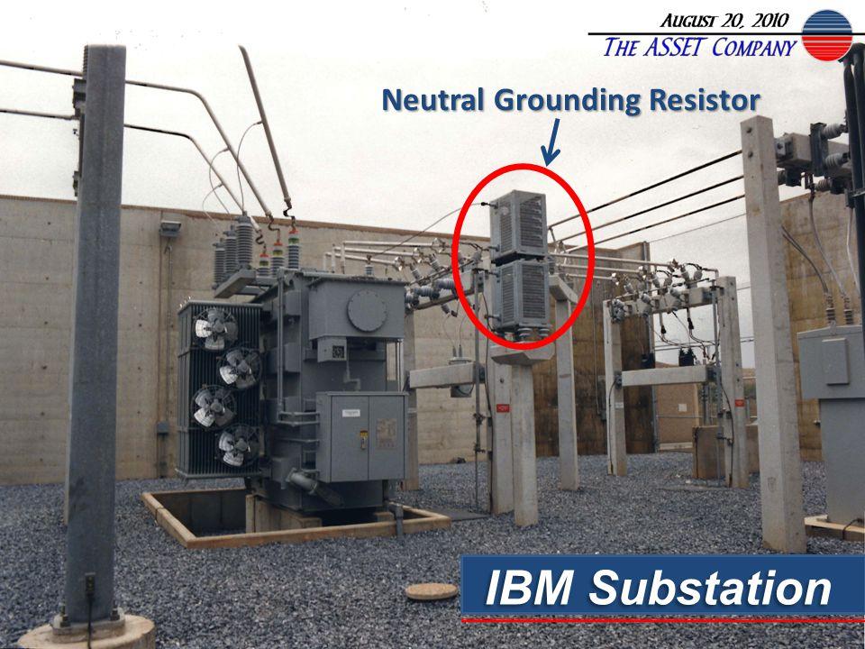 IBM Substation Neutral Grounding Resistor