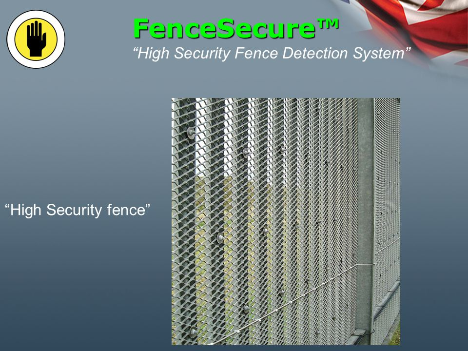 Fence Intrusion Detection System Vibewire mounted within screw barrel conduit FenceSecure