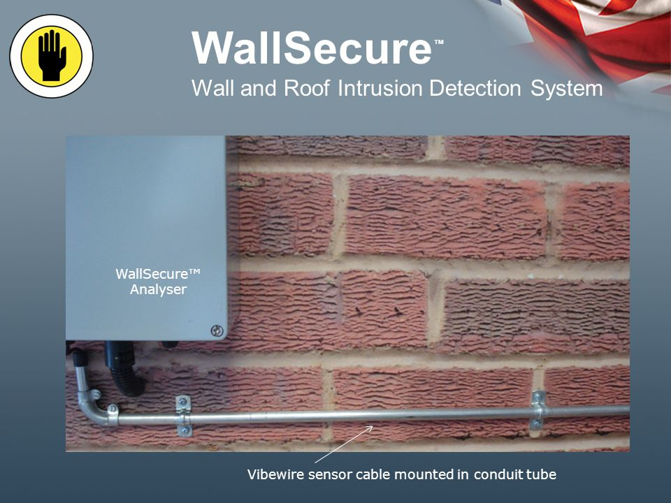 WallSecure Wall and Roof Intrusion detection System for Bonded warehouse and secure storage
